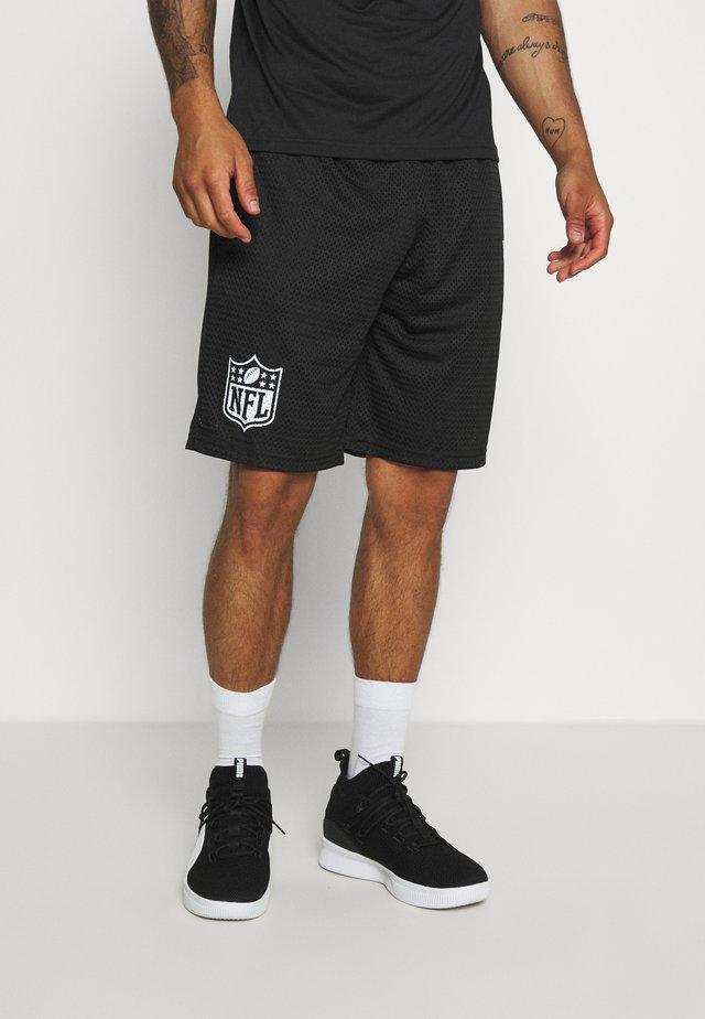 NFL SHORT GENERIC LOGO - Sports shorts - black