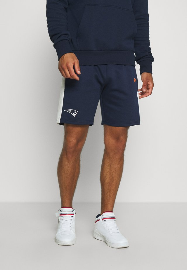 NFL CONTRAST DETAIL SHORTS NEW ENGLAND PATRIOTS - Sports shorts - dark blue