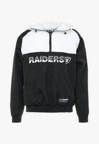 New Era - NFL OAKLAND RAIDERS COLOUR BLOCK  - Vindjacka - black - 4
