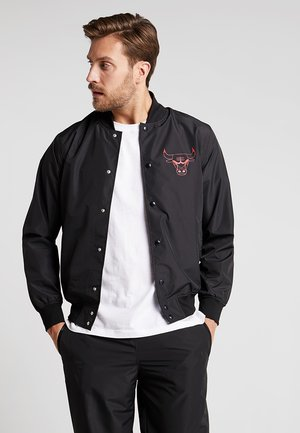 NBA CHICAGO BULLS TEAM LOGO BOMBER - Training jacket - black