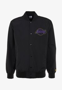 New Era - NBA LA LAKERS TEAM LOGO  - Sportovní bunda - black - 3