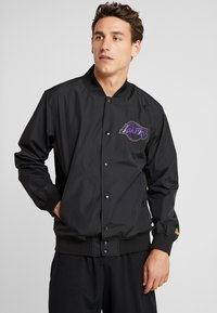 New Era - NBA LA LAKERS TEAM LOGO  - Training jacket - black - 0
