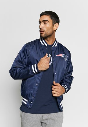 NFL NEW ENGLAND PATRIOTS TEAM BOMBER - Klubbkläder - dark blue