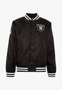 New Era - NFL OAKLAND RAIDERS TEAM BOMBER - Article de supporter - black