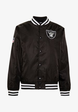NFL OAKLAND RAIDERS TEAM BOMBER - Fanartikel - black