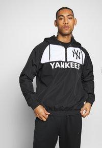 New Era - MLB WINBREAKER NEW YORK YANKEES - Veste coupe-vent - black - 0