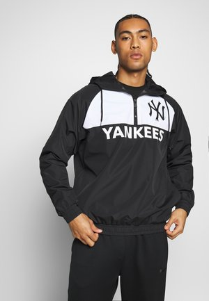 MLB WINBREAKER NEW YORK YANKEES - Větrovka - black