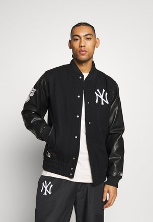 MLB HERITAGE VARSITY JACKET NEW YORK - Article de supporter - black