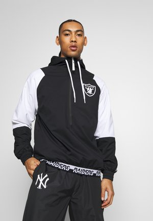 NFL WINDBREAKER OAKLAND RAIDERS - Veste coupe-vent - black