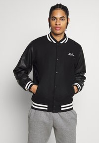 New Era - IMAGE VARSITY JACKET  - Veste de survêtement - black - 0