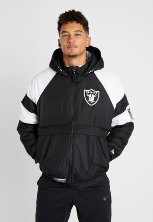 NFL PUFFER JACKET OAKLAND RAIDERS - Article de supporter - black
