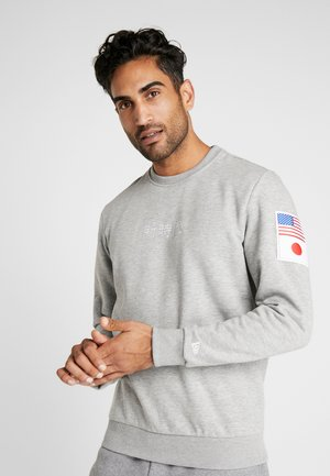 FAR EAST CREW NECK - Sweatshirt - grey heather