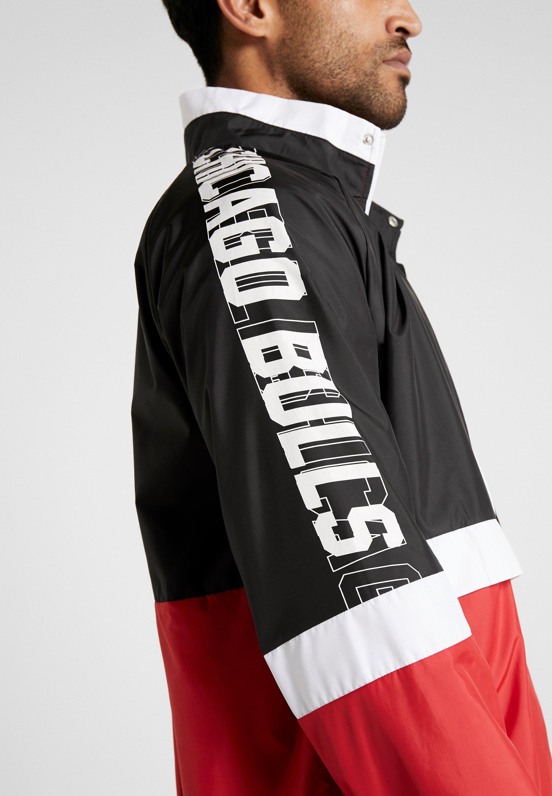 Door optic Track Black Red Nba BullsSquadra Colour Era Block White Jacket New Chicago front H2YWD9EI