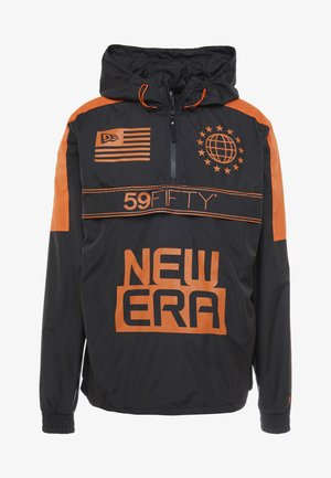 GRAPHIC WINDBREAKER - Treningsjakke - black/orange