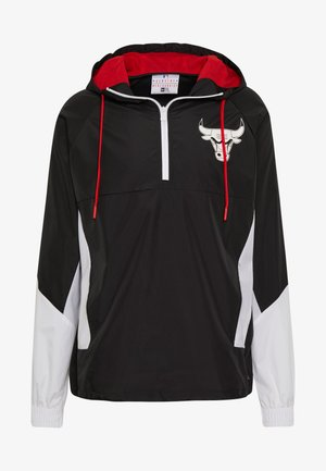 NBA PANEL WINDBREAKER CHICAGO BULLS - Větrovka - black