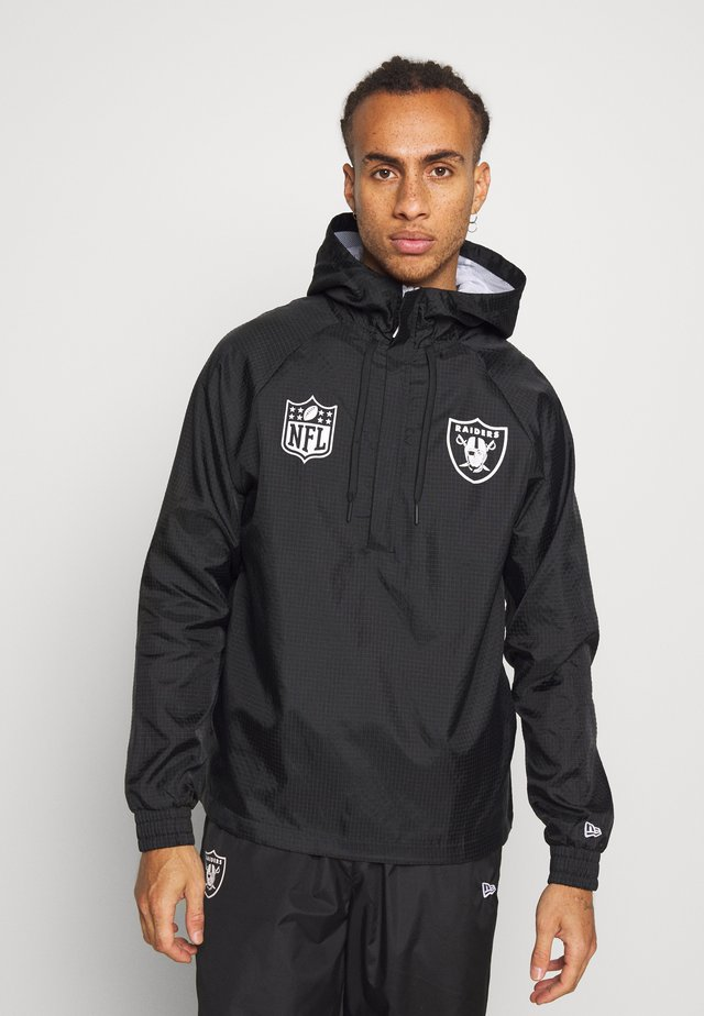 NFL WINDBREAKER OAKLAND RAIDERS - Vereinsmannschaften - black