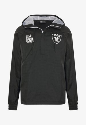 NFL WINDBREAKER OAKLAND RAIDERS - Klubtrøjer - black