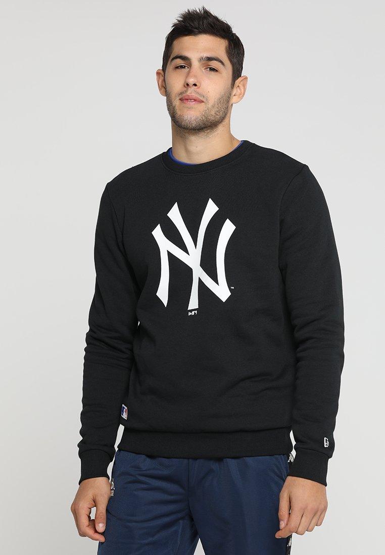 New Era - MLB YANKEES TEAM LOGO CREW - Fanartikel - black/white