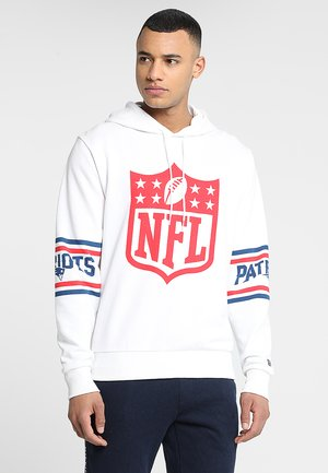NFL BADGE HOODY - Pelipaita - white