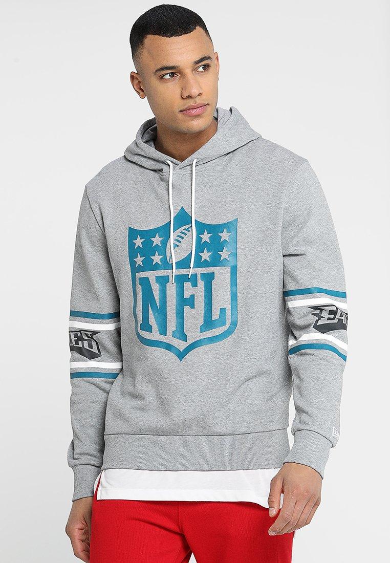 New Era - NFL BADGE HOODY - Club wear - grey