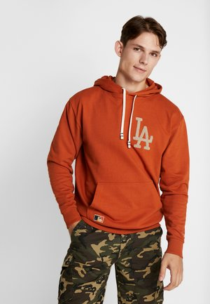 MLB VINTAGE BIG LOGO HOODY - Sweat à capuche - rust