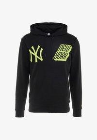 New Era - MLB NEW YORK YANKEES GRAPHICS TYPOGRAPHY - Sweat à capuche - black - 5
