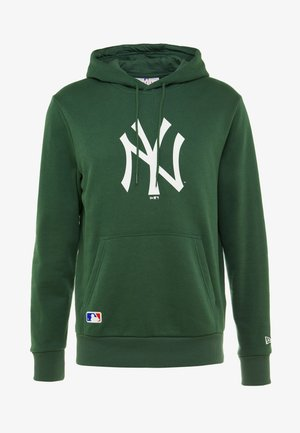 MLB NEW YORK YANKEES SEASONAL TEAM LOGO HOODY - Klubové oblečení - green
