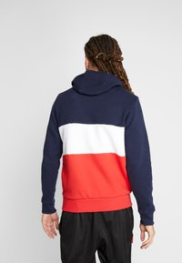 New Era - NFL COLOUR BLOCK HOODY NEW ENGLAN PATRIOTS - Hoodie - navy - 2