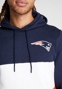 New Era - NFL COLOUR BLOCK HOODY NEW ENGLAN PATRIOTS - Hoodie - navy - 3