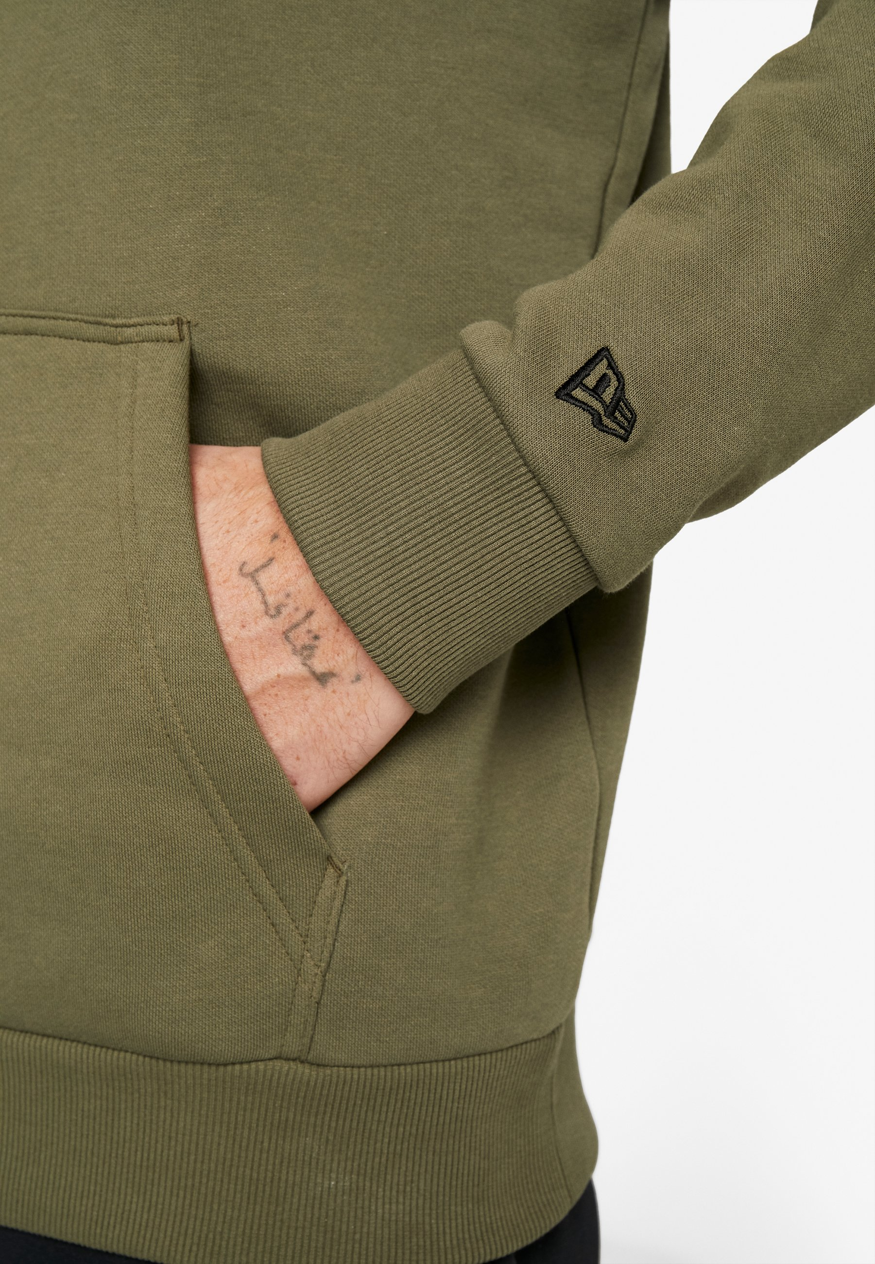New Era Nfl England Patriots Camo Collection Hoody - Luvtröja Mottled Olive/khaki