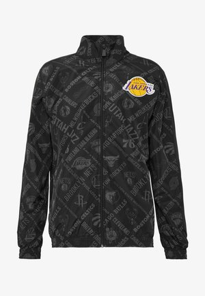 NBA TRACK JACKET LOS ANGELES LAKERS - Fanartikel - black