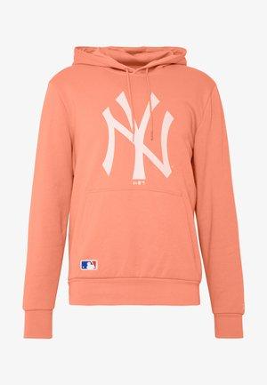 MLB SEASONAL TEAM LOGO HOODY NEW YORK YANKEES - Hoodie - light pink