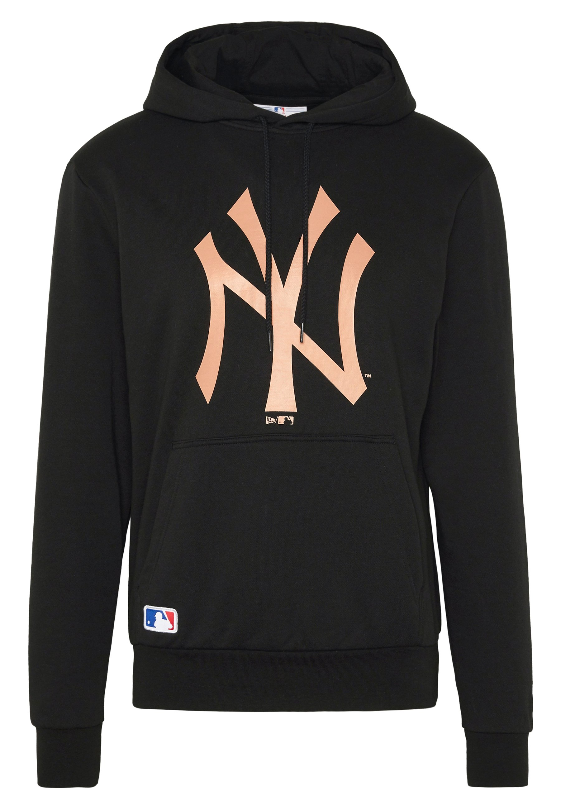 New Era MLB SEASONAL TEAM LOGO HOODY NEW YORK YANKEES - Artykuły klubowe - black