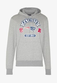 New Era - NFL GRAPHIC HOODY NEW ENGLAND PATRIOTS - Klubové oblečení - grey - 4