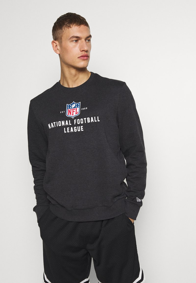 New Era - NFL LEAGUE ESTABLISHED CREW NFL GENERIC LOGO - Mikina - dark grey