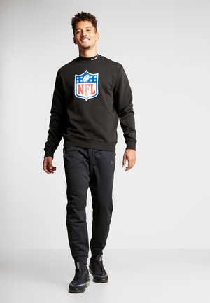 NFL SHIELD CREWNECK - Collegepaita - black