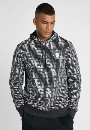 NFL HOODY OAKLAND RAIDERS - Jersey con capucha - graphite