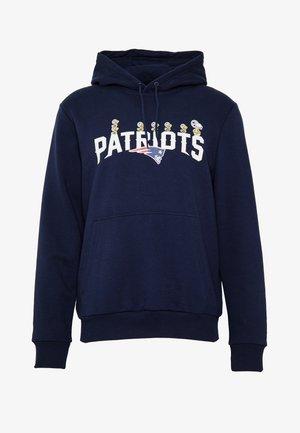 NFL SNOOPY HOODY NEW ENGLAND PATRIOTS - Hoodie - dark blue