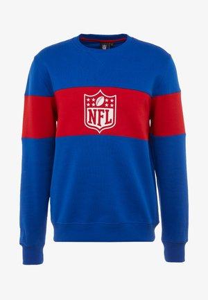 NFL PANNELLED CREW NECK - Squadra nazionale - dark blue