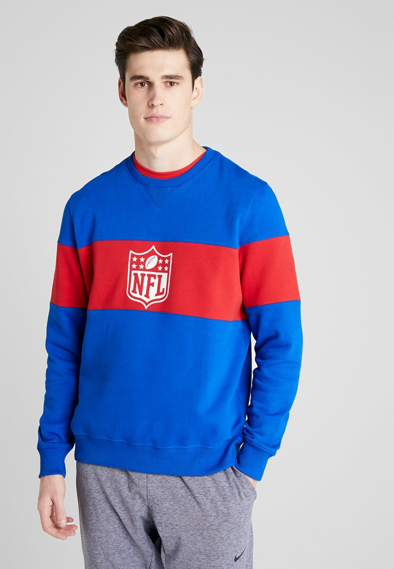 Fanatics - NFL PANNELLED CREW NECK - Pelipaita - dark blue