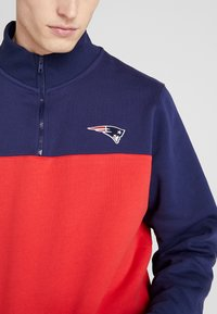Fanatics - NFL NEW ENGLAND PATRIOTS PANNELLED NECK - Mikina - red - 5