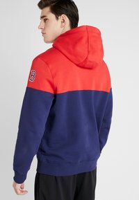 Fanatics - MLB BOSTON REDSOX PANNELLED HOODIE - Pelipaita - dark blue - 2