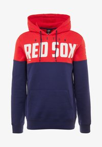 Fanatics - MLB BOSTON REDSOX PANNELLED HOODIE - Pelipaita - dark blue - 4