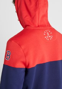 Fanatics - MLB BOSTON REDSOX PANNELLED HOODIE - Pelipaita - dark blue - 3