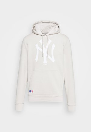MLB SEASONAL TEAM LOGO HOODY NEW YORK YANKEES - Hoodie - light grey