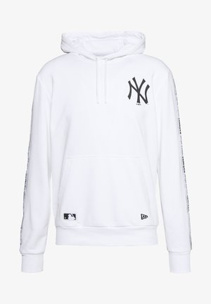 MLB TAPING HOODY NEW YORK YANKEES - Club wear - white