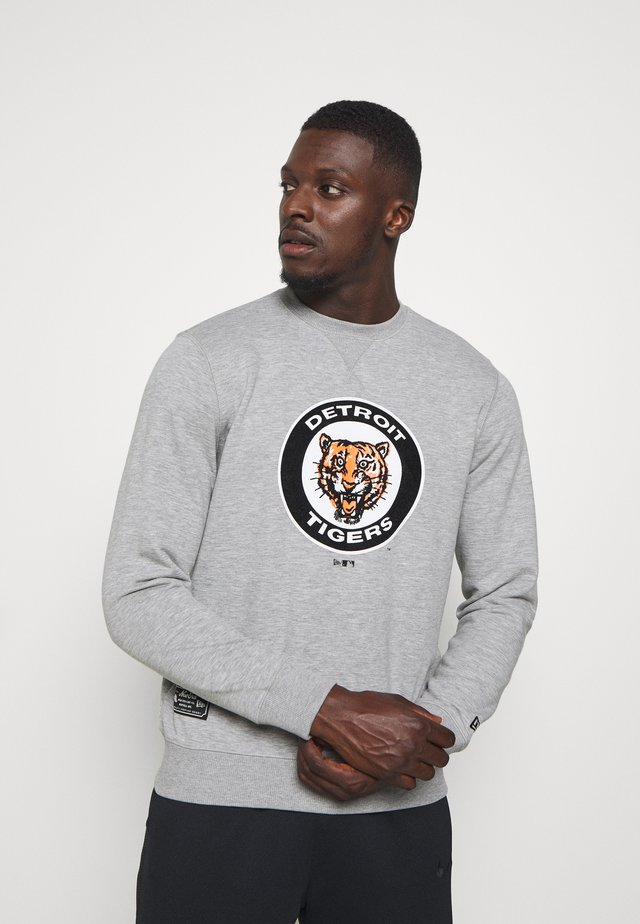MLB DETROIT TIGERSCOOPERSTOWN CREW - Klubbkläder - grey