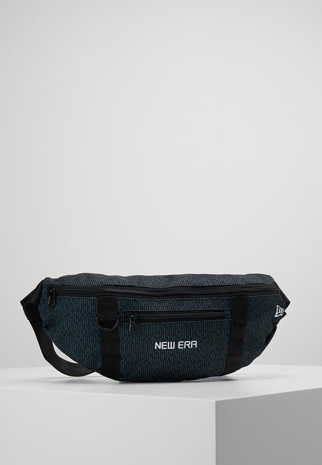 RAIN WAISTBAG - Vyölaukku - black
