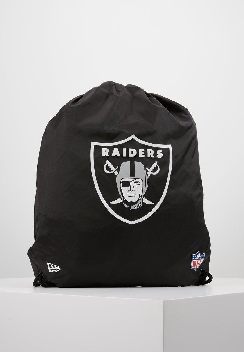 New Era - NFL OAKLAND RAIDERS GYMSACK  - Urheilulaukku - black