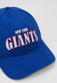 New Era - NFL NEW YORK GIANTS PRECURVED - Pet - blue - 5